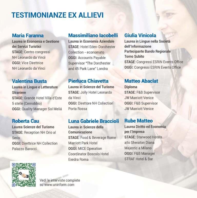 testimonianze master tqm uninform